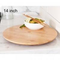 Quality Bamboo Wood Kitchen 14 inch bamboo lazy susan for sale