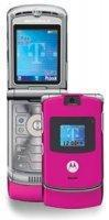 BRAND NEW MOTOROLA RAZR V3 RAZOR PINK TMOBILE Cellular PHONE
