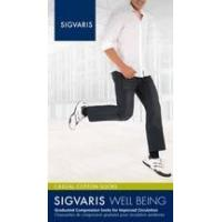 China Compression Shop Sigvaris 186 Casual Cotton Compression Knee High Socks for Men, 15-20mmHg on sale