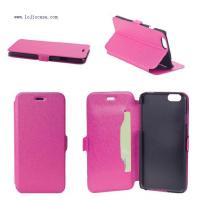 PU leather case for iphone 6 Item:LJ-IP603