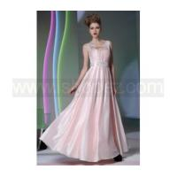 Quality Fashion Pink long prom dress, bridesmaid dress - Sweetheart+Jewel pearl for sale