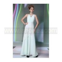 Quality Formal long prom dress, halter bridesmaid dress with beaded for sale
