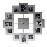 Buy cheap Photo Clock (silver frames) from wholesalers