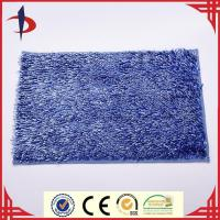 China With PVC backing microfiber chenille mat glossy anti slip floor mat on sale