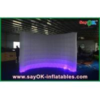 Quality Automatic Led Inflatable Photo Booth , Party Decorative Photobooth Kiosk for sale