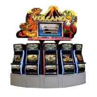 Quality Volcano Jackpot Game Machine with Big Winning Lamp Screen Above MT-GA034 for sale
