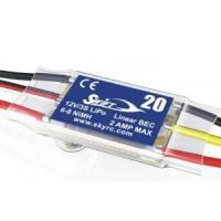Quality SKYRC Swift RC Model Airplane Brushless Motor 20A ESC Speed Controller for sale