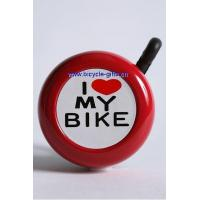 Quality Products I Love My Bike Bell, aluminum bike bell, bicycle accessory for sale