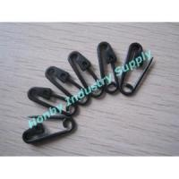 22mm Black Color Sharp Plastic Safety Pin
