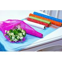 Quality Flower Wrapping Materials organza by the roll Dot Foamed Organza Rolls for sale