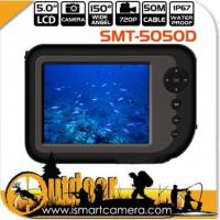 Quality 5.0Inch Ourdoors Ice Fishing Video Fish Finder Camera Underwater 25m SMT-5050D for sale