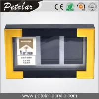 Buy cheap custom acrylic showcase for cigarette from Wholesalers