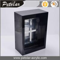 Quality high glossy black acrylic cigarette dispenser for sale