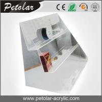 Buy cheap clear 3 tier acrylic display stand for cigarette from wholesalers