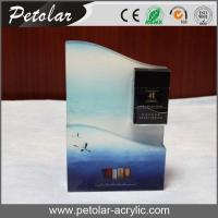 Buy cheap shop acrylic counter display for cigarette from wholesalers