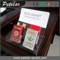 Buy cheap clear acrylic table top display for cigarette from wholesalers