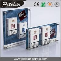 Buy cheap wall mounted acrylic display case for cigarette from wholesalers
