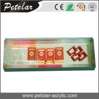Buy cheap acrylic retail display for cigarette from wholesalers
