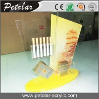 Buy cheap custom acrylic display case for cigarette from wholesalers