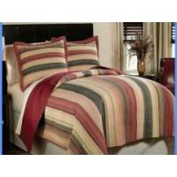 China Wholesale 100% cotton twin fitted bedspread patchwork quilt on sale