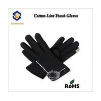 cotton lint touch screen glove for all touch screen device like smart phone and keep warm