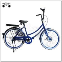 Quality 24inch single speed colorful lady`s city bicycle for sale