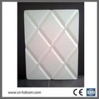 Quality Geometric modeling PVC membrane door for cabinet for sale