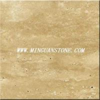 Buy cheap International Marble ID80 Beige Travertine from Wholesalers