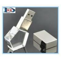 Buy cheap Crystal usb flash drive /corporate gifts pen drive /engraved custom usb flash stick from wholesalers
