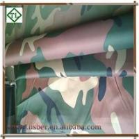 Windproof Waterproof Printed 190T Polyester Taffeta for tent fabric