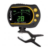 JT-22B Rotating Clip-on Tuner for Guitar, Bass, Violin and U