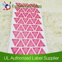 Buy cheap Removable adhesive lable from wholesalers
