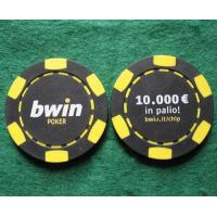 Quality Poker Chip MODEL: HN-201,11.5gram chip with printing for sale