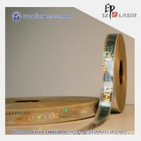 Quality Custom Hot stamping Holographic Strip for Security Packaging for sale