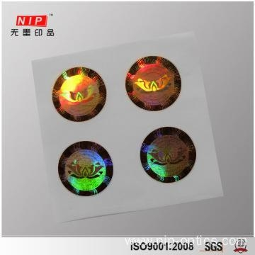 Buy Deep 2D 3D Dot Matrix Hologram Sticker for Perfume at wholesale prices