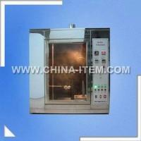 Quality Lab Needle Flame Tester for IEC60695, Flammability Test Machine Needle Flame Tester for IEC60112 for sale
