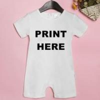 Quality 2016 hot sale customized cotton short sleeve baby romper suit, No minimum quantity required! for sale