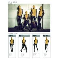 Quality FIBERGLASS MANNEQUINS Abstract mannequin fabric covered female for sale