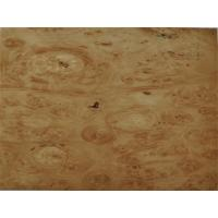 Buy cheap Natural Wood Veneer Maple Burl Veneer from wholesalers