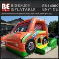 Quality car inflatable combo bouncer slide bouncer for sale