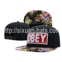 China Snapback Cap Top Fashion Wholesale Snapback Baseball Cap and hat on sale
