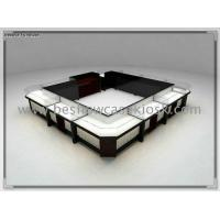 Quality 12*10 feet Mall jewelry shop display showcase for sale
