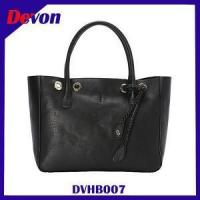Devon Genuine Leather Small Tote