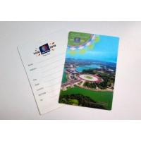 Quality 3D pp scenery greeting card for sale