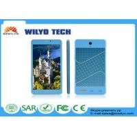 Quality WK3000 7 Inch Tablet And Phone MT8312 Dual Core Touch Screen 3g Android for sale