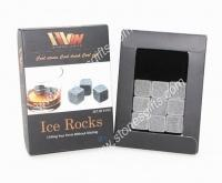 Quality natural stone ice cube 9pcs per set for sale