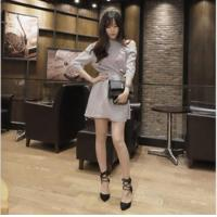 Buy cheap d83225f 2016 summer strapless dresses newest korean dress for lady from wholesalers