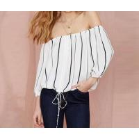 Buy cheap d73295h 2016 summer fashion woamn blouse and tops wholesale women clothes lady blouse & top from wholesalers