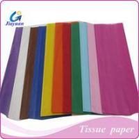 Buy cheap flame proof tissue paper,gift packing tissue paper,wrapping printed tissue paper,17gsm tissue paper from wholesalers