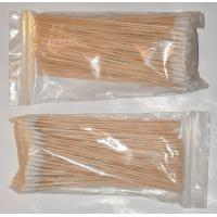 China DAILY COMMODITIES Long Wooden Cotton Bud 2 bags on sale